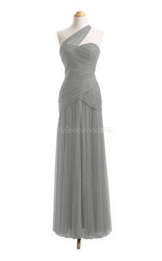 Discount Silver Long Bridesmaid Dresses,Long Bridesmaid Dress