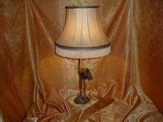 Edwardian Art Nouveau, bronze sculpture table lamp, antique by AntiqueBoutiqueZ on Etsy