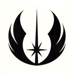 Jedi emblem - Future back tattoo