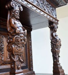 Rare Authentic Baroque Cabinet from Northern Germany, circa 1700