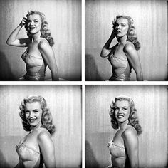 Early portraits of a 22-year-old struggling actress/starlet named Marilyn Monroe. These images were were shot by photographer J.R. Eyerman in February 1949 for LIFE, but never published in the magazine. (J.R. Eyerman—The LIFE Picture Collection/Getty...