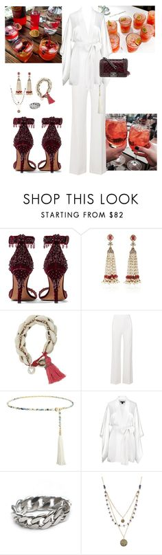 """""""WHITE AND RED"""" by helene-blache ❤ liked on Polyvore featuring Givenchy, Sanjay Kasliwal, Julie Fagerholt Heartmade, Roland Mouret, Emilio Pucci, Kiki de Montparnasse, Tessa Metcalfe, Alicia Marilyn Designs and Chanel"""