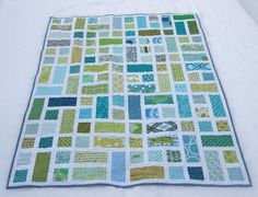 Rectangle cubed quilt by duzza bear, via Flickr