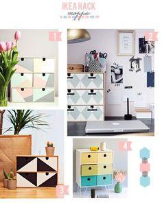 IKEA HACK: MINICÓMODA MOPPE