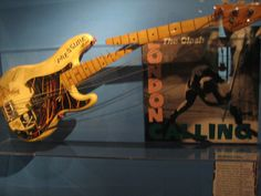 The broken remains of Paul Simonon's bass are in the permanent collection of the Rock and Roll Hall of Fame in Cleveland, Ohio