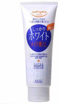 Kose Cosmeport Softymo Makeup Cleansing Cream, White Kose...