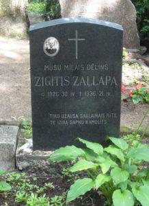 Tombstone Tuesday – Zigītis Zaļlapa, 1926-1936 #genealogy