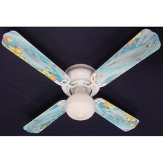 Ceiling Fan Designers Playful Dolphins Dolphin Indoor Ceiling Fan - 42FAN-ANI-PDD