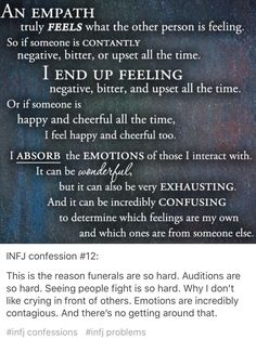 INFJ confession #12