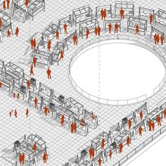 Patrick Taft Architecture - 3D isometric drawing
