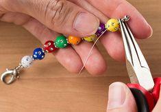 DIY Tutorial: How to Make LDS Young Women Value Beaded Scripture Zipper Pulls