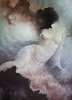 1d0a792c18a5a Apsara o ninfa de las nubes y las aguas, en la cultura hindú Painting,