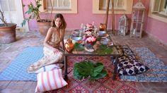 Cómo decorar una mesa para una cena exótica y picante al aire libre - Especiales…