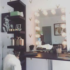 Oh deer, I think we have fallen in love  @galvinmason's vanity station features our #ImpressionsVanityGlowXL