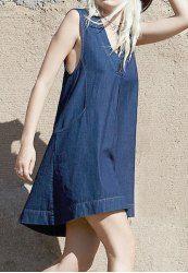 Denim Dresses - Cheap Denim Shirt Dress & Jean Dress Online Sale At Wholesale Price | Sammydress.com