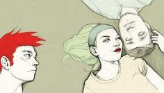 Denisem Van Leeuwen en http://lamonomagazine.com/ilustracion-denise-van-leeuwen-hacer-sabado/#