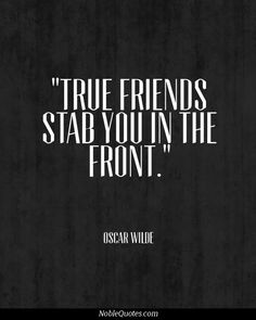 true are the wounds of a friend!