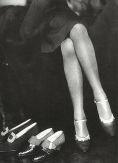 Publicité pour des chaussures dans les années 20