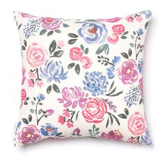 Inspired by colorful flower markets Caitlin frequented while living in the South of France, this vibrant floral is a pièce de resistance! Shades of pink, purple, coral and French blues evoke movement