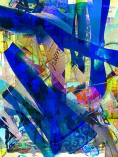 'Blue legs' von Gabi Hampe bei artflakes.com als Poster oder Kunstdruck $20.79