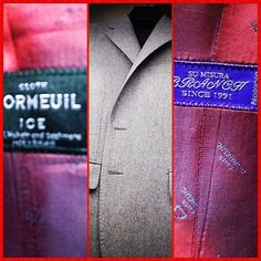 【Order Suit Wet Cleaning 】本日の熊本は、雨で冷え込んでますOY_Yフラノ生地�...
