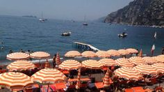 Bar Bagni d'Arienzo - Lunch at Bar Bagni d'Arienzo. Short boat ride from Positano or 300 steps down