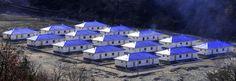 함북도 북부피해지역의 1만 1900여세대 살림집건설 50여일만에 완공, 수십개의 새 거리, 새 마을 형성