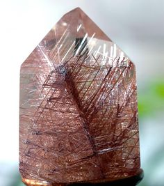 Gem Rutile Quartz | Buy # natural #gemstones online at mystichue.com