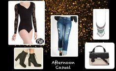 Afternoon Casual Look featuring a lace leotard by Tiler Peck Designs™ style (P1081)