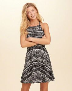 Must-Have Knit Skater Dress