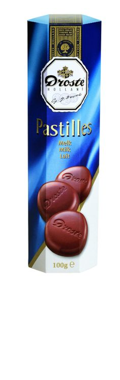 Godiva Milk Chocolate, Droste Holland Pastilles and Lindt Blueberry Intense