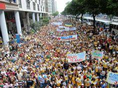 Marcha para Jesus em Belém reúne 300 mil pessoas