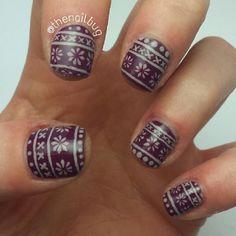 christmas by thenailbug #nail #nails #nailart