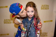 Lucky Young BELIEBER With Justin Bieber. #Belieber #JustinBieber #Young #AskaTicket