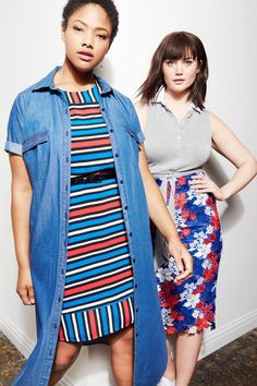 Printed Tee Dress | French Twist Collection | Women's Plus Size Fashion | ELOQUII