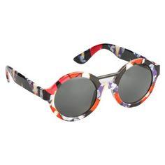 Peter Pilotto® for Target® Sunglasses -Red Iris Print