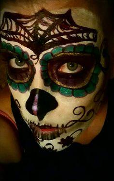 Dia De Los Murtos make-up