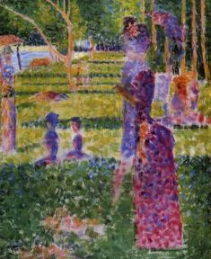 The Couple - Georges Seurat