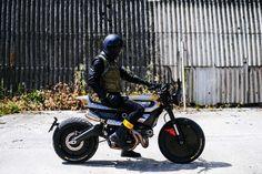 Radical! Ducati Scrambler Pirelli collaboration by Vibrazioniartdesign Srl Alberto Dassasso. Brutal la #DucatiScrambler en colaboración con Pirelli. Una moto con auténtica alma rebelde | caferacerpasion.com