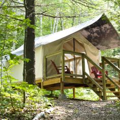 Glamping in Perry sound