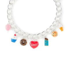 Dylan's Candy Bar Sweet Treats Chunky Charm Necklace | Claire's