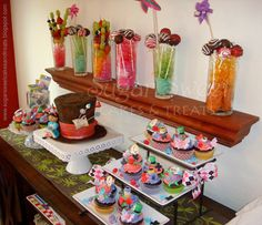 Sugar Sweet Cakes and Treats: A Mad Hatter Tea Party (and Mad Hatter Cake #3)