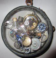 Clockwork Steampunk Bauble by starbuckwhalerider