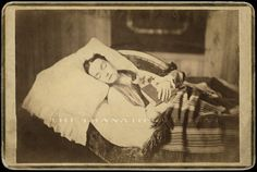"""No doubt many of you know about the practice of photographing dead loved ones; the pics are called Memento Mori (actually I guess it should be """"Mementi..."""