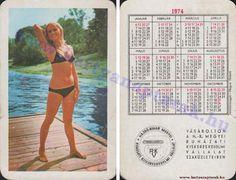 1974 - 1974_0501 - Régi magyar kártyanaptárak