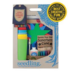 Design Your Own Superhero Cape – Seedling.