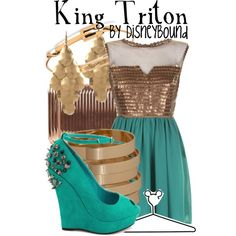 """""""King Triton"""" by lalakay on Polyvore"""