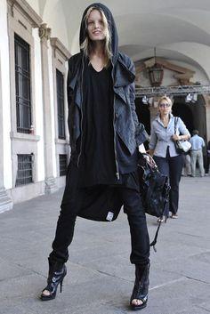 Street Style nga Modelet - Hanne Gaby Odiele