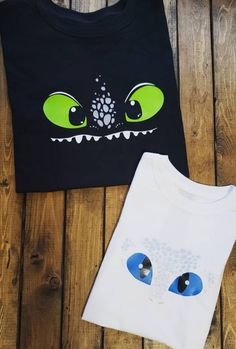 This cute top is printed on basic unisex soft cotton tees. This is available in sizes ranging from to XL Personalization is available for free! Add name, number, etc When ordering the set choose the Set option for size and add in buyer notes! Dragon Birthday Parties, Dragon Party, Birthday Diy, Birthday Shirts, How To Train Your, How Train Your Dragon, Debut Ideas, Cute Costumes, Toothless Party