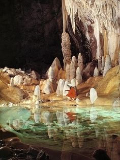 Lechuguilla cave, United States by hollie